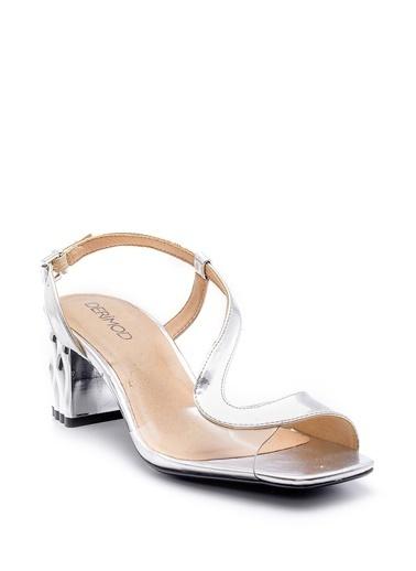 Derimod Sandalet Gümüş